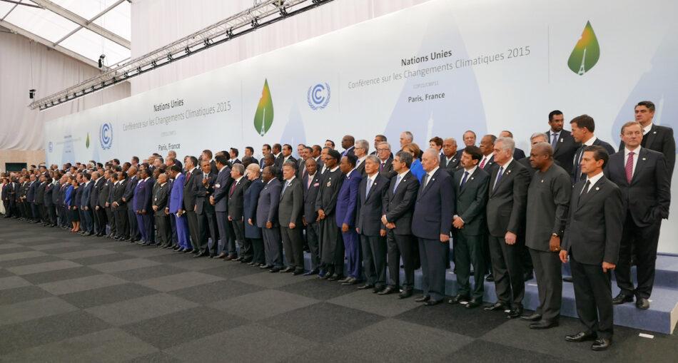Las organizaciones ambientales urgen a Rajoy a ratificar el Acuerdo de París