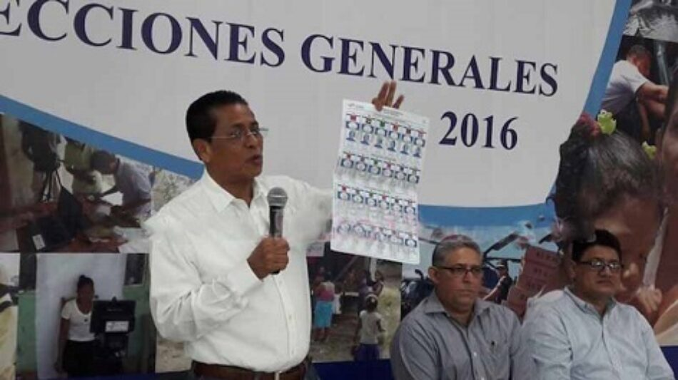 Nicaragua: Consejo Supremo Electoral entrega material de capacitación