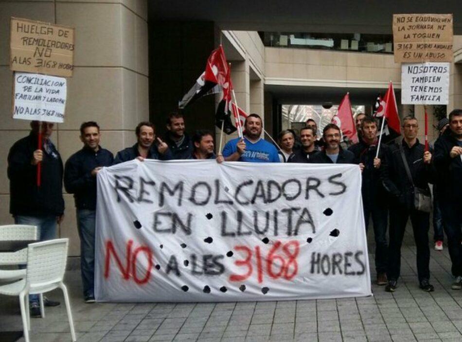 El Tribunal Supremo da la razón a los sindicatos contra la jornada en los Remolcadores de Barcelona