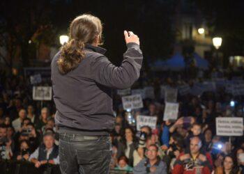 Pablo Iglesias llama a la movilización popular para luchar contra la pobreza energética