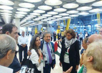 Israel deporta a la pasajera española de la Flotilla Mujeres Rumbo a Gaza