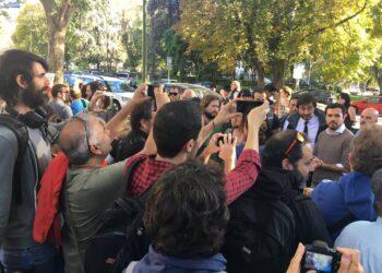 """Garzón tacha de """"desgracia para la mayoría social trabajadora"""" la investidura de Rajoy"""