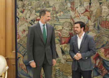 Garzón a Felipe de Borbón: «es la traición histórica del PSOE la que facilita que Rajoy pueda volver a formar Gobierno»