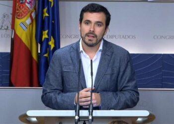 Alberto Garzón: «cuando Rajoy vuelva a la presidencia amenazará cada semana a PSOE y C´s con nuevas elecciones para que acepten sus medidas»