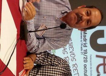 Agustín Yanel, secretario general de la FeSP: «el micromachismo es más suave, pero igual de grave»