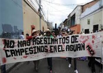 Asesinan al presidente del Movimiento Unificado Campesino del Aguán (Honduras)