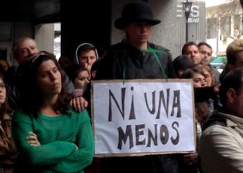 ¡#Ni una menos, Miércoles Negro, Mujeres!
