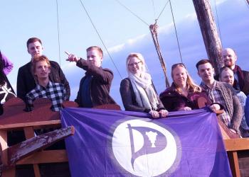 El Partido Pirata, primero en  las encuestas para las inminentes elecciones de Islandia