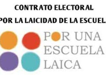 Organizaciones sociales presentarán una Proposición No de Ley por una Escuela Laica el próximo 25 de octubre
