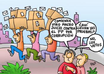 Juicio contra el PP por corrupción