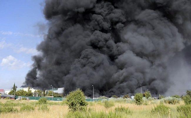 Comienza el juicio por el incendio de la planta de residuos de Chiloeches
