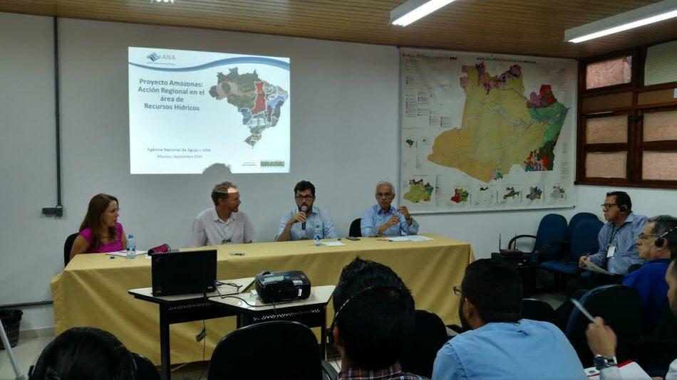 Venezuela intercambia experiencias para proyecto de monitoreo de la Cuenca Amazónica