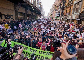 La Plataforma contra la Ley Mordaza rechaza las propuestas de reforma de PSOE y PNV de la Ley de Seguridad Ciudadana