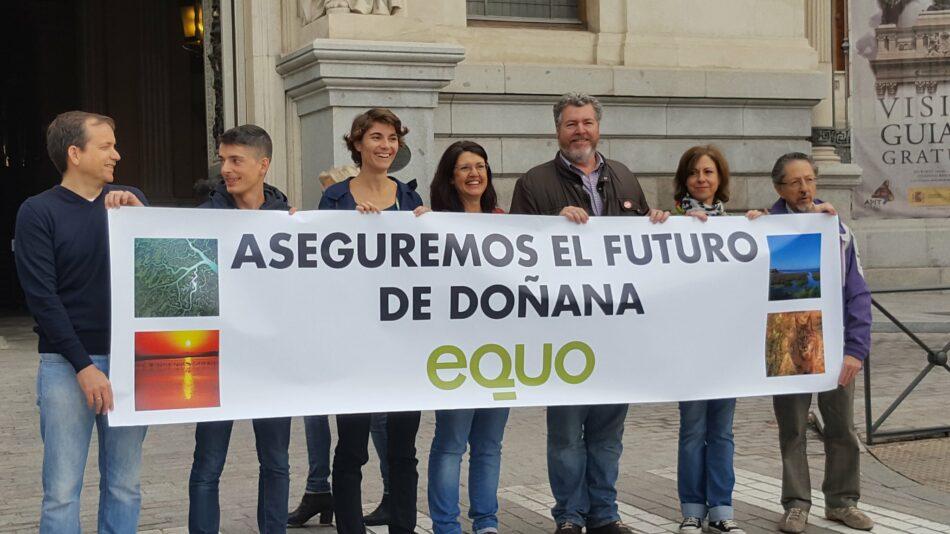 EQUO propone un acuerdo a largo plazo para blindar Doñana y potenciar la creación de empleo en el entorno