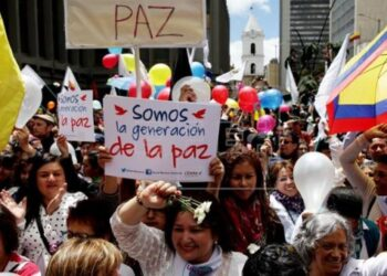 Mujeres colombianas ratifican el Sí a la Paz