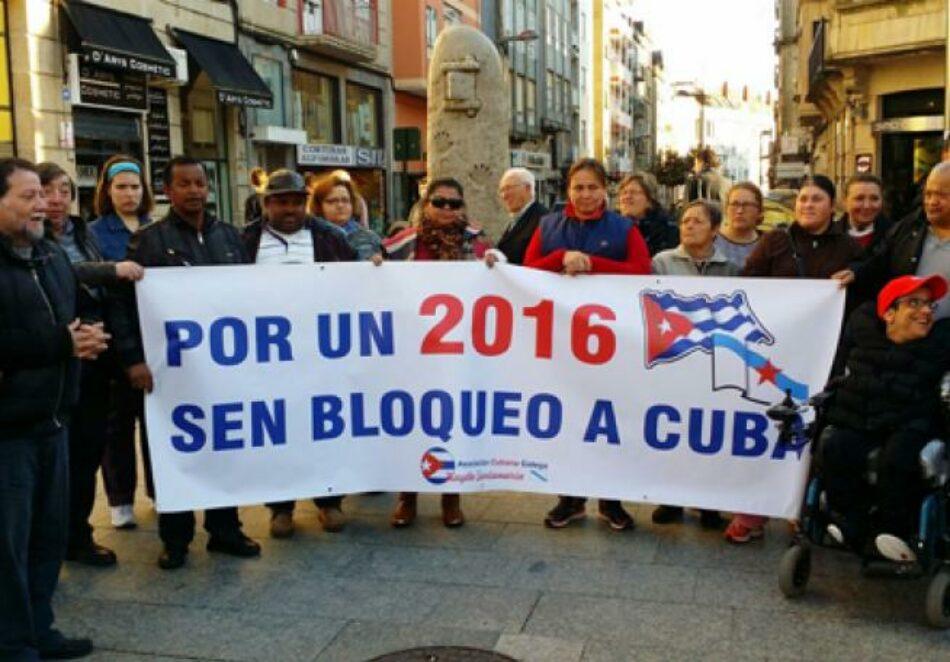 """Se presentó hoy en Madrid la Campaña """"Por un 2016"""" sin bloqueo a Cuba"""""""