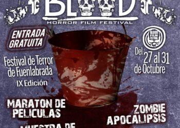 Fuenlabrada acoge la IX edición del mayor festival de cine de terror de toda la zona sur de Madrid, el 'Blood Film Festival'