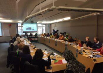 IU da voz en la Eurocámara a la lucha de las mujeres saharauis por la independencia del Sáhara Occidental