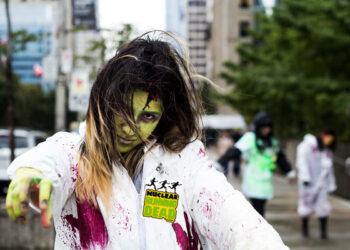 Mañana comienzan las carreras populares de temática zombi organizadas por Greenpeace