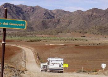 Equo Almería en contra de un hotel en las cercanias de los genoveses