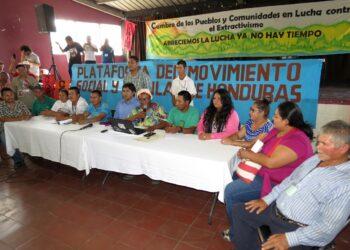 Honduras Cumbre del movimiento social y popular hondureño contra el extractivismo superó todas las expectativas