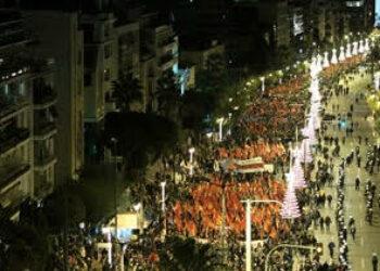 Grande y combativa manifestación de los y las comunistas griegas frente a la embajada de los EE.UU