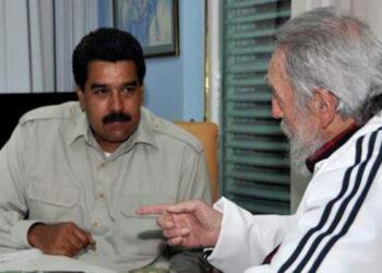 """Nicolás Maduro: """"Fidel, comandante: misión cumplida. Ahora nos toca a nosotros"""""""