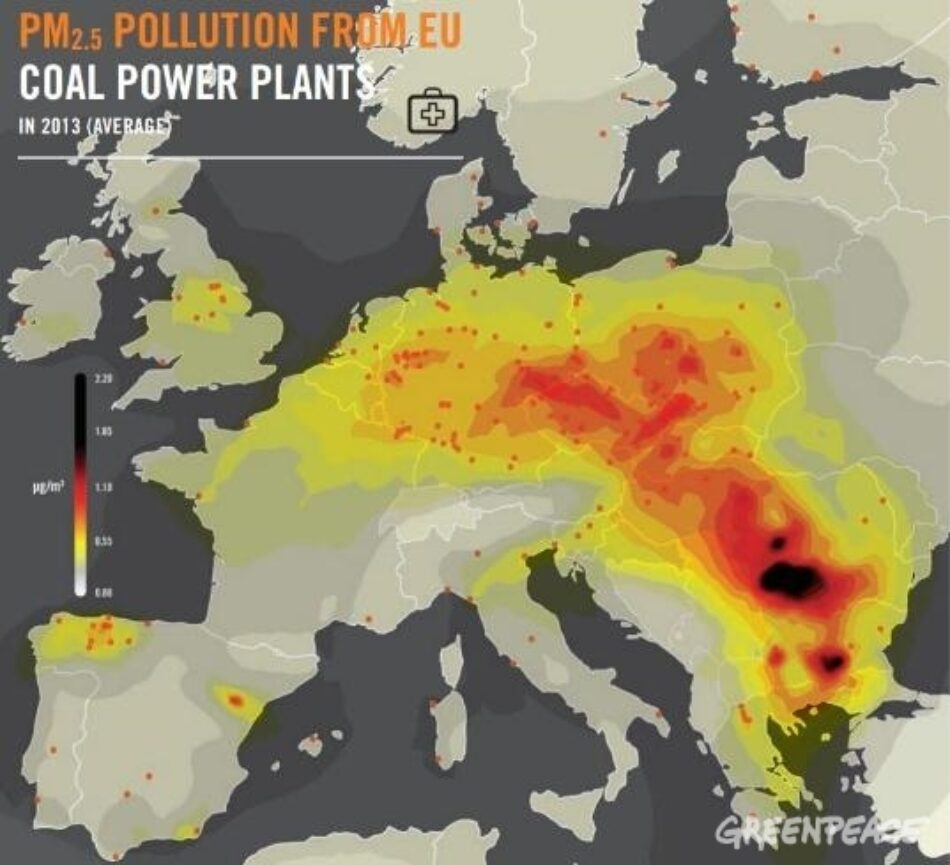 Greenpeace espera que Endesa publique el calendario de cierre de sus térmicas de carbón después de que Enel haya renovado su apuesta por las renovables