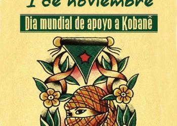 1 de noviembre: día mundial por Kobane (Kurdistán)