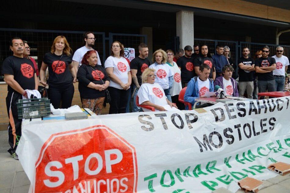 Juzgarán a cuatro activistas de Stop Desahucios Móstoles por la liberación del edificio La Dignidad