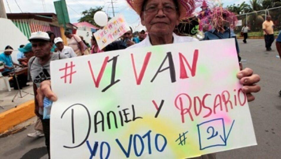 FSLN cierra campaña con amplio respaldo popular en Nicaragua