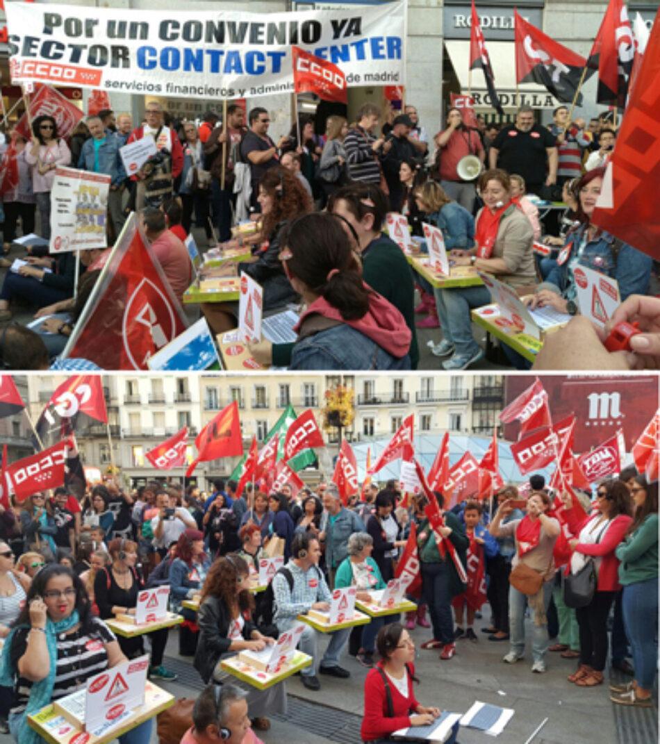 Convocada una nueva huelga de 24 horas en el sector de Contact Center