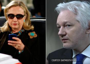 Assange: «Hillary Clinton fue la figura clave en la destrucción del Estado de Libia»