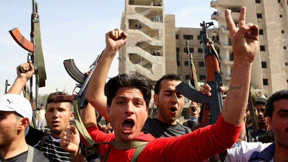 Los terroristas usan armas químicas durante el tercer día de su ofensiva en Alepo