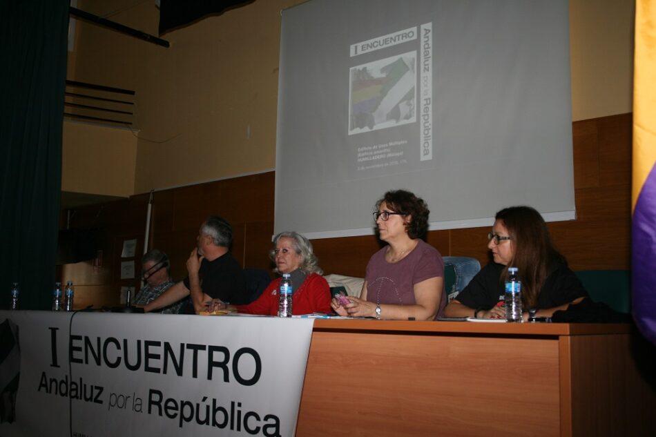 Constituida la Coordinadora de Organizaciones Republicanas de Andalucía, Andalucía Republicana