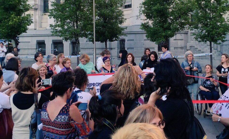 La Plataforma 7N Madrid traslada a los grupos parlamentarios sus propuestas de enmienda a la Ley contra la violencia de género de la Comunidad de Madrid