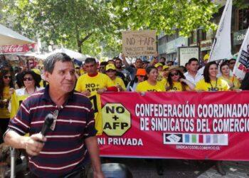"""Chile: La jornada de paro nacional convocada por movimiento """"No + AFP"""""""