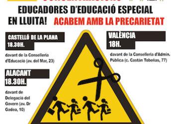 Educació es nega a parlar amb les educadores. El col·lectiu es mobilitza l'1 de desembre