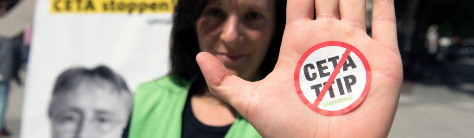 Nuevas filtraciones a Greenpeace Holanda demuestran los peligros del tratado TISA