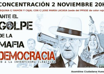 """Convocan en Huesca una protesta por el """"fraude al electorado"""" que supone la investidura de Rajoy"""