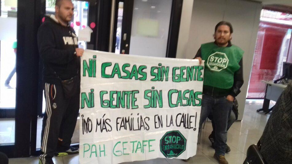 Delegación del Gobierno Multa a un activista de la PAH Getafe en el desahucio del pasado 22 de julio en Móstoles