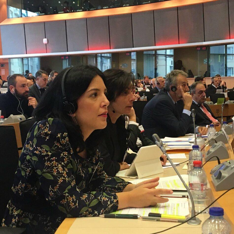El Grupo Parlamentario de Unidos Podemos exige en Bruselas un plan europeo que acabe con la desigualdad y la crisis de refugiados