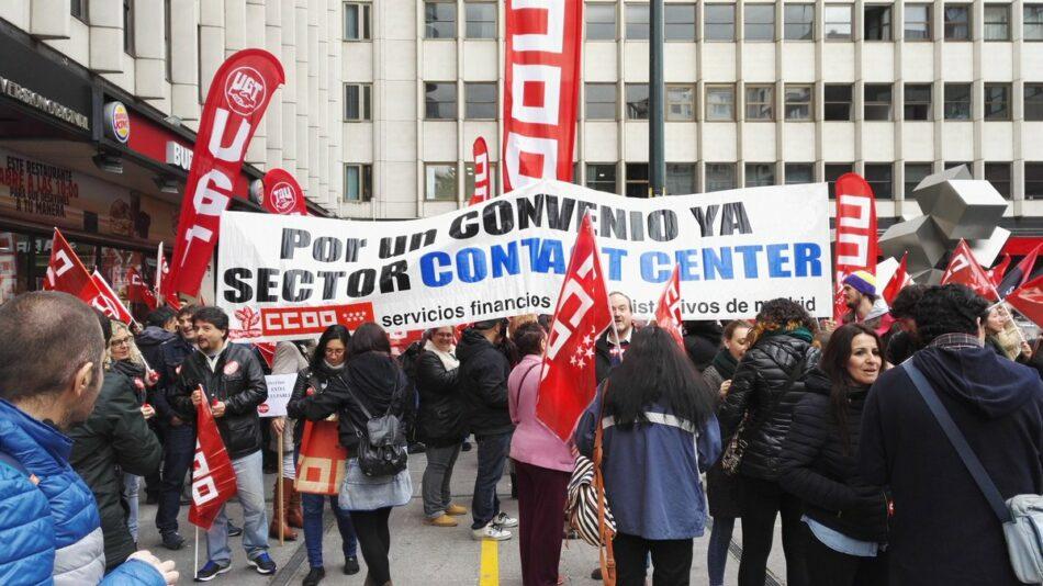 La huelga de Telemarketing logra saturar las líneas de atención al cliente de Telefónica, Vodafone y Banco Santander