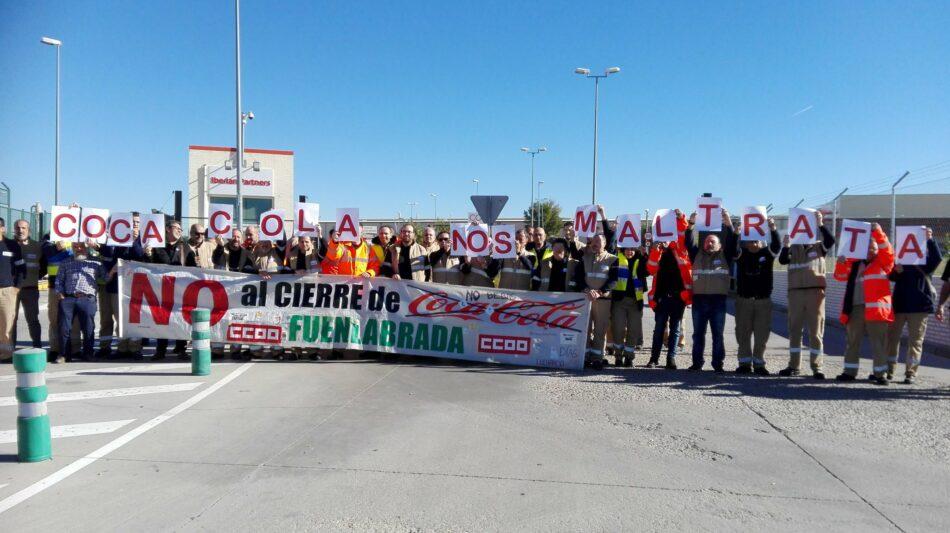 Medio centenar de eurodiputados da su apoyo a un manifiesto en defensa de los trabajadores de Coca-Cola