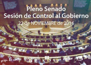 La sostenibilidad del sistema de pensiones, a debate en la primera sesión de control al Gobierno en 11 meses