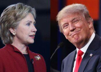 Clinton sigue delante, a menos de 48 horas de elecciones en EE.UU.