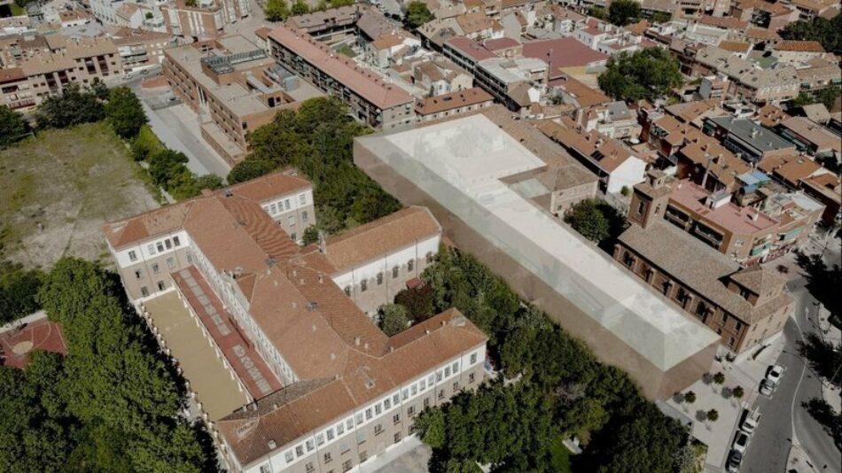 El proyecto de un gimnasio impulsado por una entidad religiosa pone en riesgo el casco antiguo de Hortaleza