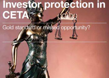 El Parlamento de la UE rechaza la oportunidad de aclarar el estatus legal del CETA