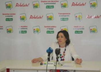 IU acusa a Susana Díaz de «vender tierras públicas para hacer caja»