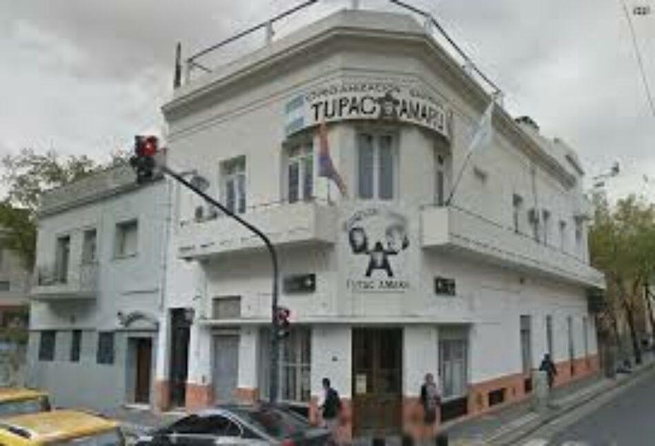 """Argentina: Hombres armados entraron en sede de la organización La Tupac en Buenos Aires: amenazas para que """"se dejen de joder"""" pidiendo la libertad de Milagro Sala"""